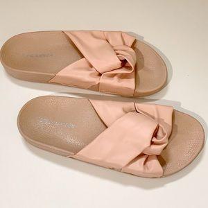 Shoes - Steve Madden Silky Pool Slide Sandals Pink Size 8